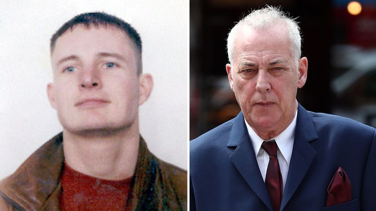 Essex police undated handout photo of Stuart Lubbock, who was found dead in Michael Barrymore's (right) swimming pool nearly 20 years ago. Mr Lubbock's father has thanked the entertainer for keeping the case in the public eye