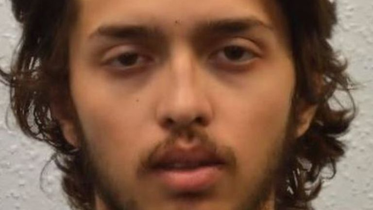 Sky News understands the terrorist was a man from Harrow named Sudesh Amman, in his early twenties.