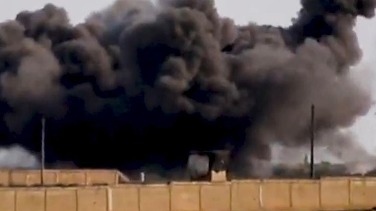 The barrel bomb's deadly payload