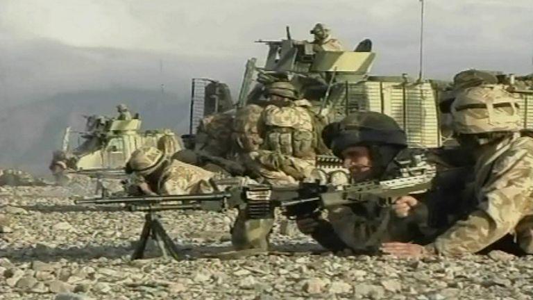 Britain has around 1,100 servicemen and women in Afghanistan