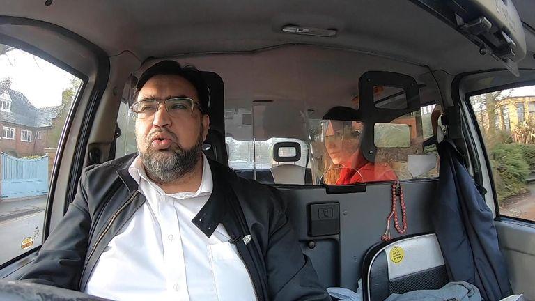 Sajid Mahmoud says the taxi trade will suffer