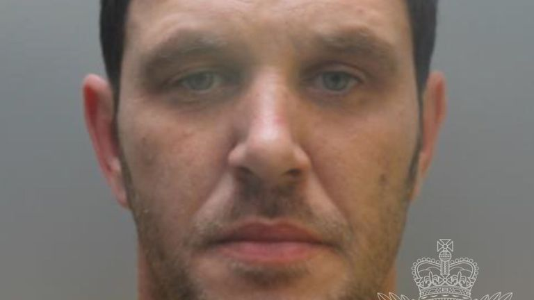 Terence Whall will serve at least 31 years in jail. Pic: North Wales Police