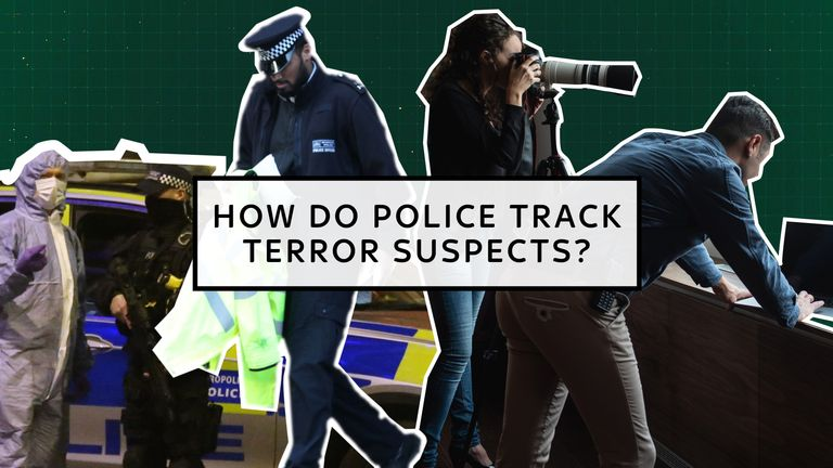 How to police track terror suspects?
