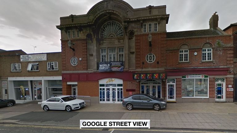 Police were called to The Assembly in Leamington at around 5am