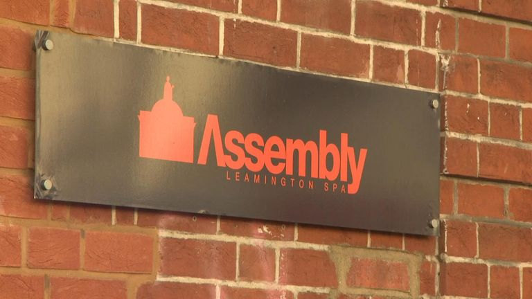 The 19-year-old man died after becoming seriously ill at The Assembly in Leamington Spa