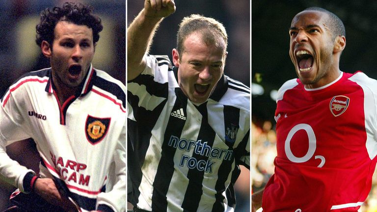 The Premier League is launching a hall of fame to honour some of its best players