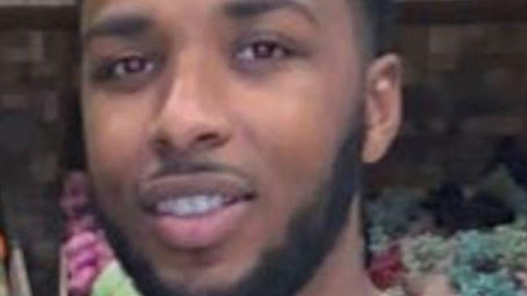 Tyler Roye, 24, was stabbed to death in Croydon. Pic: Met Police