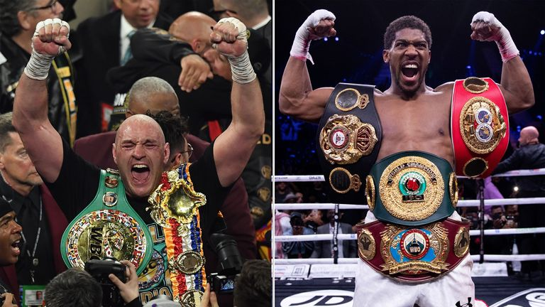 Tyson Fury contre Anthony Joshua