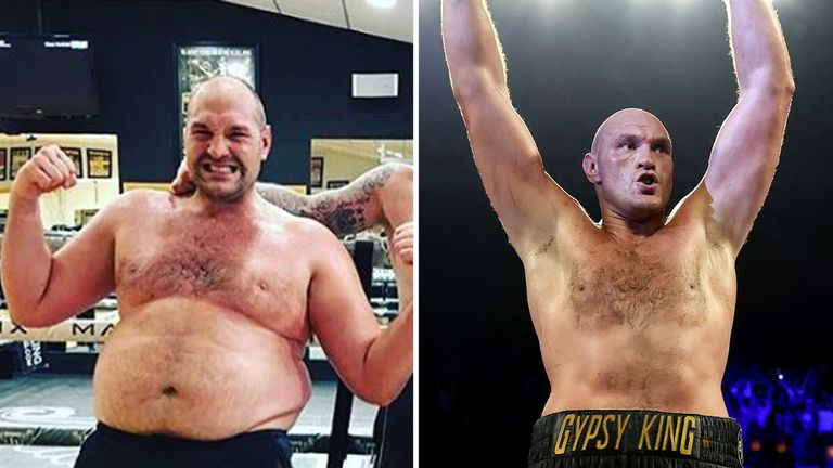 Tyson Fury revived his career and now holds a world title