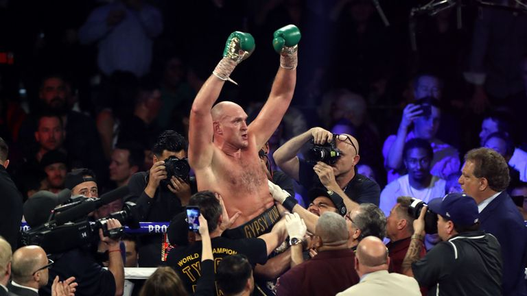 'The king has returned': Fury beats Wilder in heavyweight rematch
