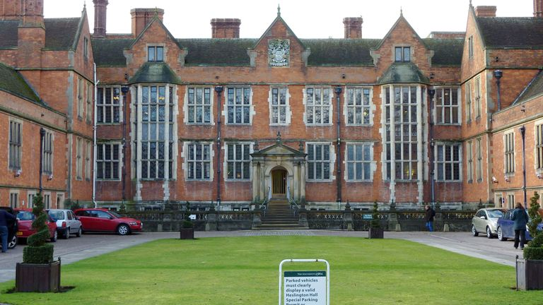 View of Heslington Hall, part of the main campus at the University of York. One of the first two people to test positive for coronavirus in the UK is a student at the University of York. PA Photo. Issue date: Saturday February 1, 2020. See PA story HEALTH Coronavirus. Photo credit should read: Anna Gowthorpe/PA Wire