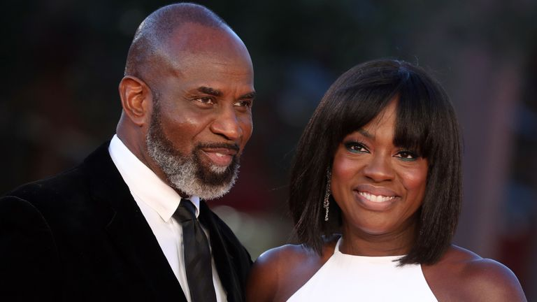 Davis runs a production company with her husband Julius Tennon