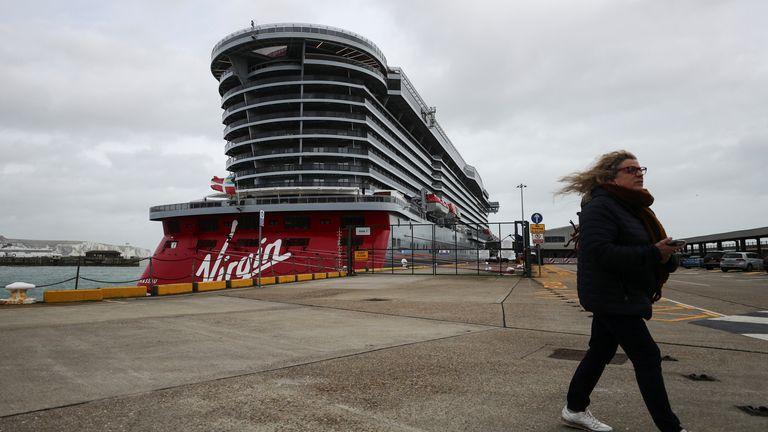 Virgin Voyages Scarlet Lady cruise liner