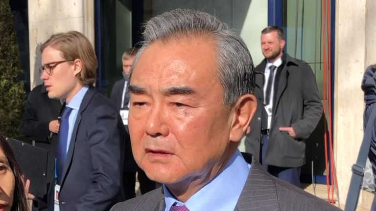 Wang Yi has said Huawei is a 'trustworthy' company
