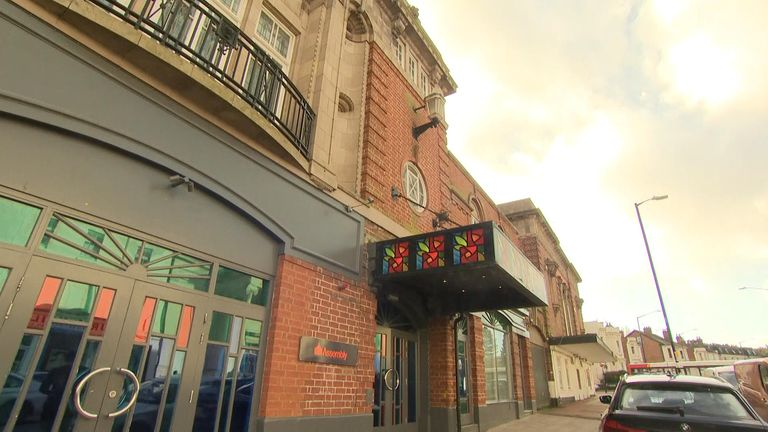 A 22-year-old woman is seriously ill in hospital after an incident at The Assembly venue in Leamington Spa