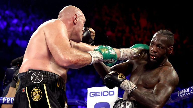 Tyson Fury beats Deontay Wilder in heavyweight rematch