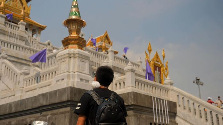 Zifan Yang's guide business in Thailand has dried up because there are no Chinese tourists due to coronavirus