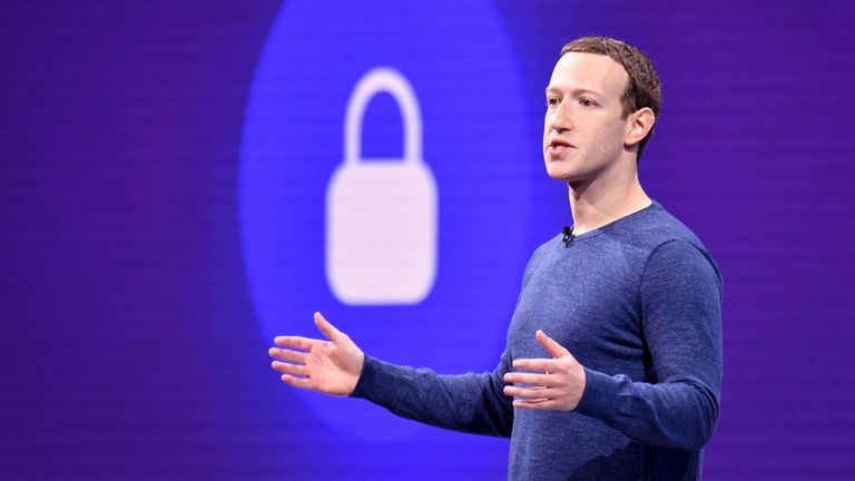 May 1, 2018 Facebook CEO Mark Zuckerberg speaks during the annual F8 summit at the San Jose McEnery Convention Center in San Jose, California