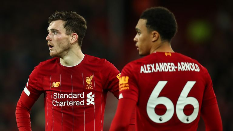 Stephen Warnock examines the influence of Trent Alexander-Arnold and Andy Robertson in the success of Liverpool