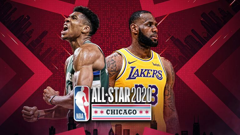 Team captains LeBron James and Giannis Antetokounmpo draft their respective rosters for the 2020 NBA All-Star Game
