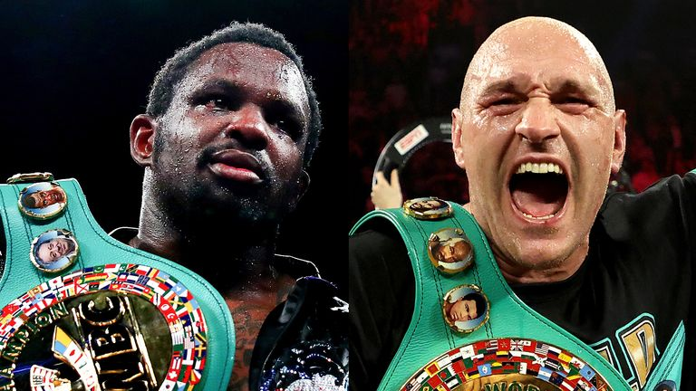 Dillian Whyte is mandatory challenger for Tyson Fury's WBC belt