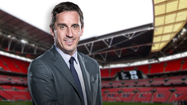 Gary Neville Wembley