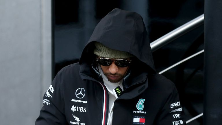 Lewis Hamilton reveals the Mercedes team have some concerns about reliability, following the second week of pre-season testing