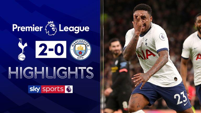 Spurs Beat 10 Man City After Var Drama Video Watch Tv Show Sky Sports
