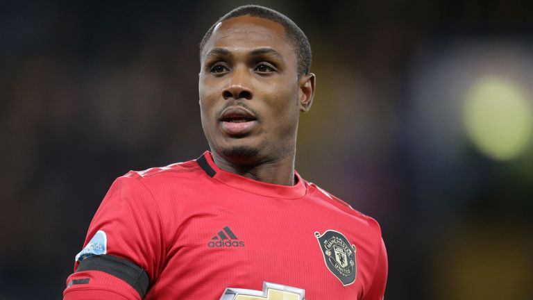 Odion Ighalo in action during Man Utd's 2-0 win over Chelsea at Stamford Bridge