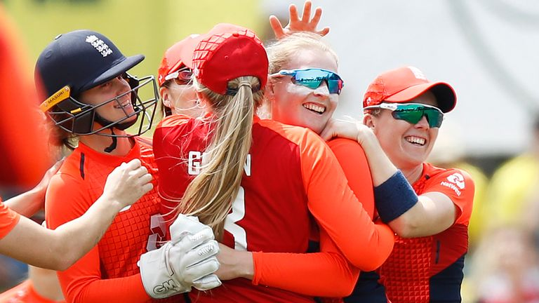 0:52                                            Lydia Greenway says England are in a transitional period but has seen positive signs from the team ahead of the ICC Wo