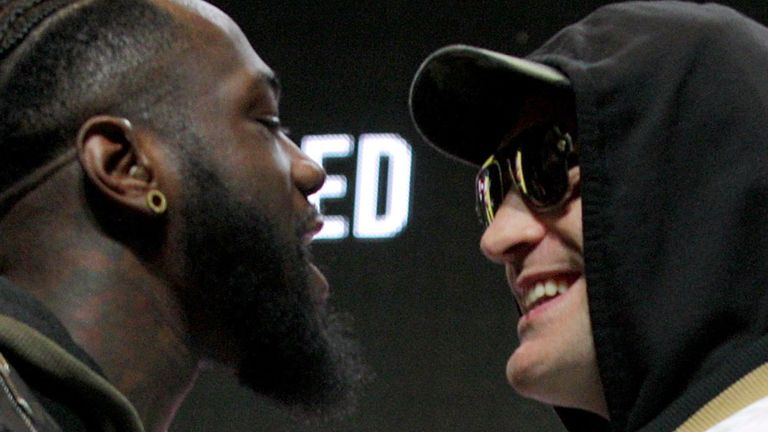 Deontay Wilder & Tyson Fury Get Heated Ahead Of Rematch