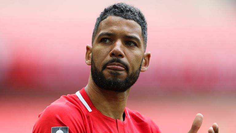 Leyton Orient's Jobi McAnuff talks about his concerns for black players after new research this week about coronavirus