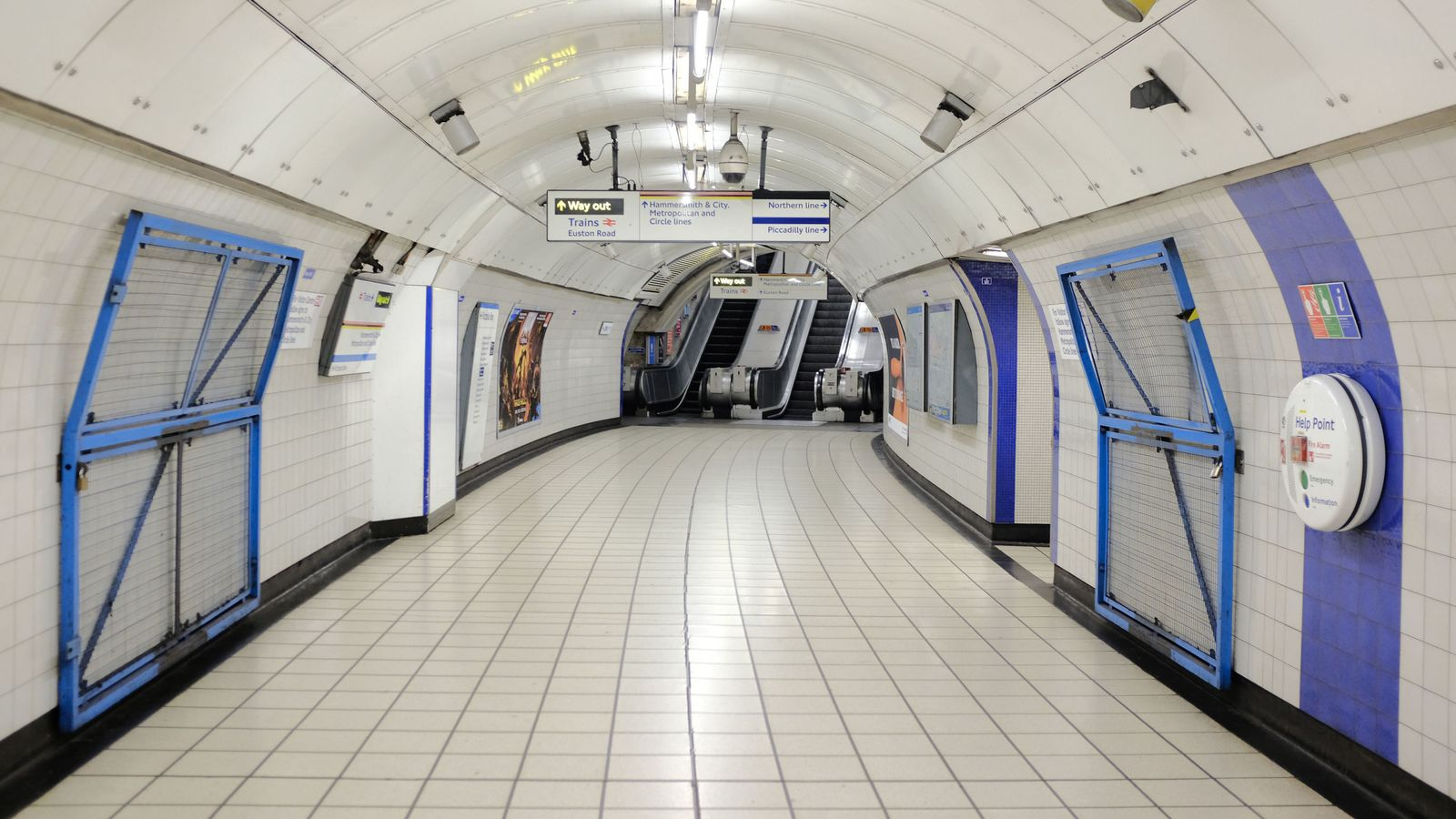 Coronavirus: London underground to be partially shut on ...