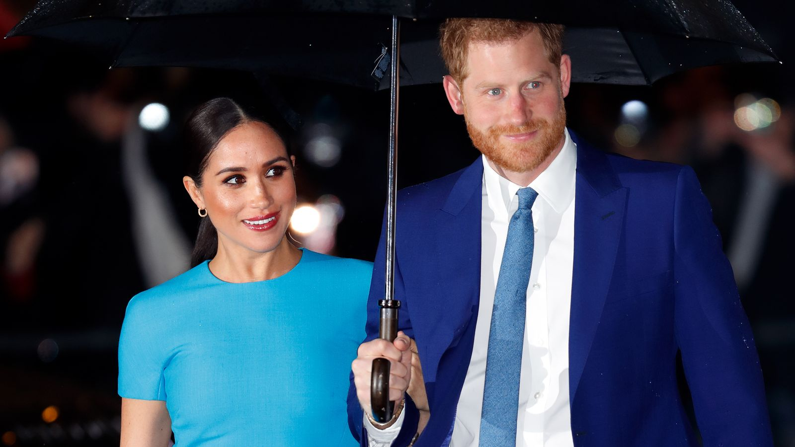 harry and meghan surprise proposal fails to take spotlight off torn sussexes uk news sky news harry and meghan surprise proposal