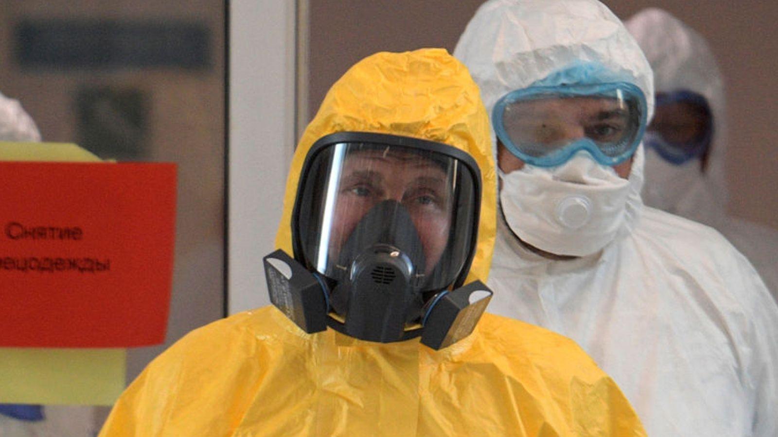 Coronavirus: Putin's 'got this' – but for how much longer?