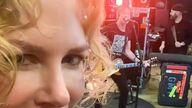 Nicole Kidman became an 'audience of one' for husband Keith Urban. Pic: Instagram/@Nicolekidman