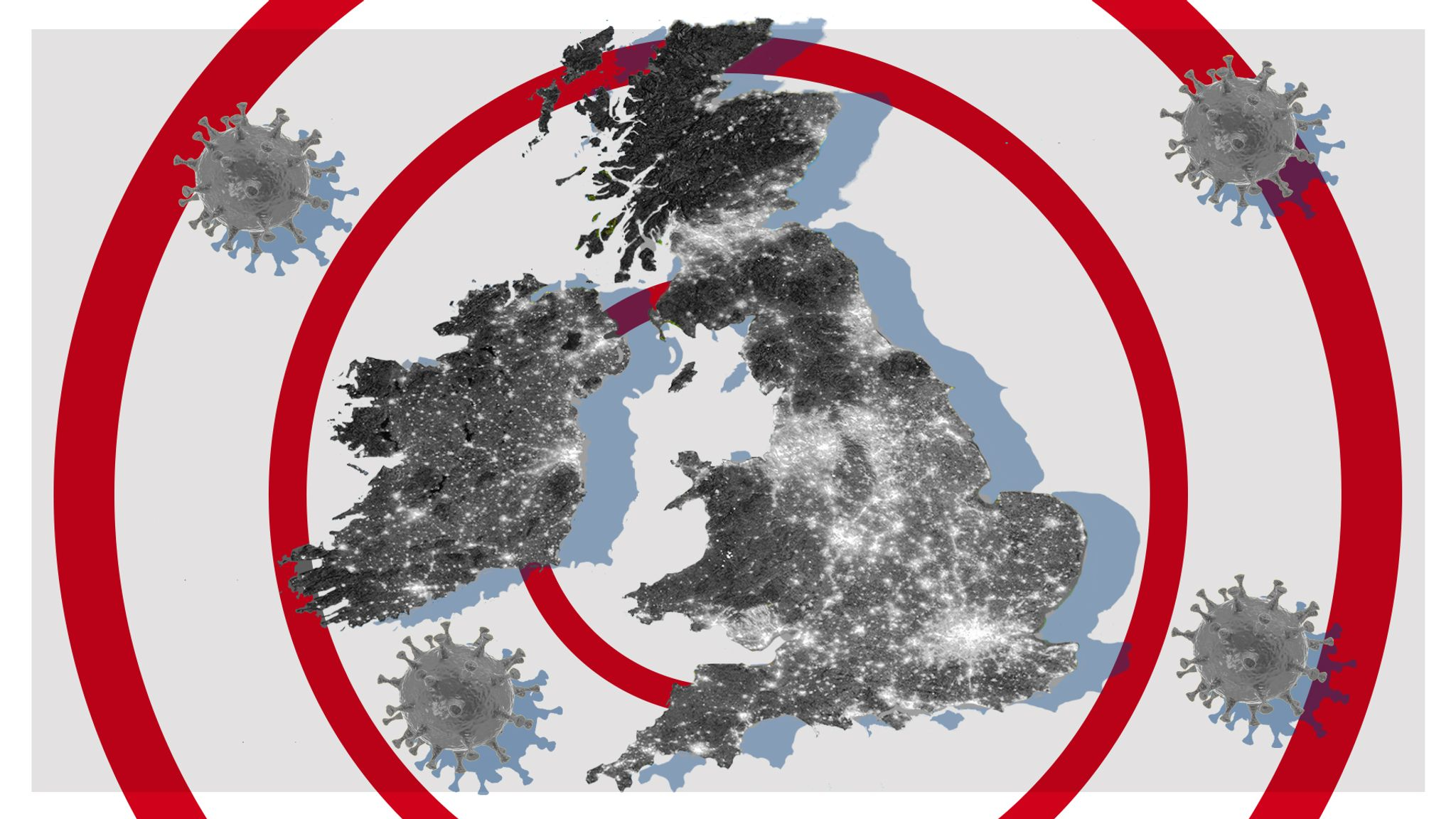Mapped Where Coronavirus Has Spread In The Uk Uk News Sky News
