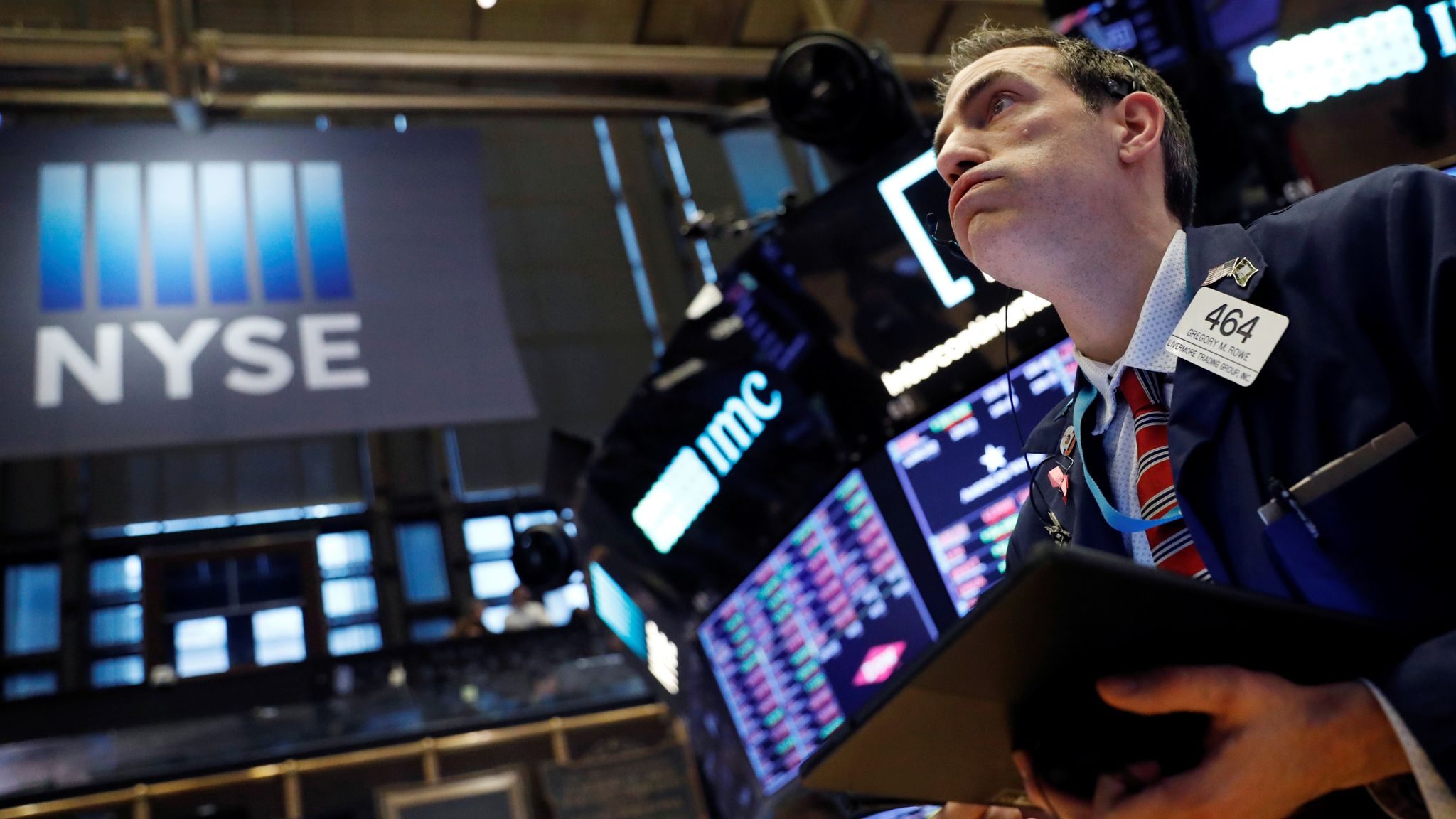 Us Markets Dragged Down By Tumbling Tech Stocks Business News Sky News