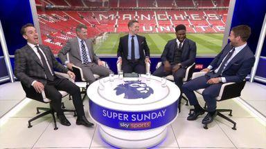 Super Sunday banter continues into ad break!