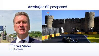 Azerbaijan GP postponed