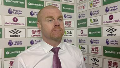 Dyche frustrated by refereeing decisions