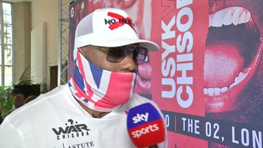 Chisora vows to knock out Usyk