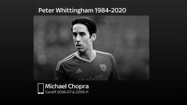 Chopra 'devastated' by Whittingham death
