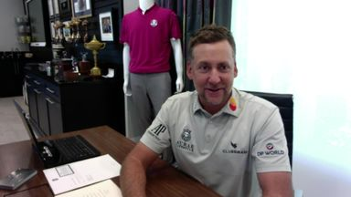 Poulter turns to F1 simulation