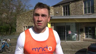 Sinfield finishes marathon for Burrow
