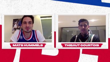 Hummels, Courtois explain love of NBA