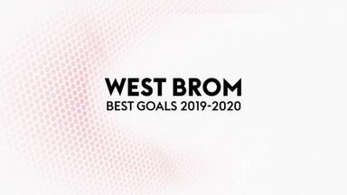 West Brom's goals of season