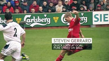 Gillette Precision Play Gold: Gerrard screamer
