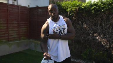 Akinfenwa's Tuesday workout