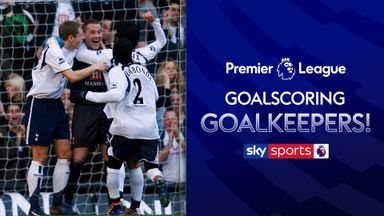 When PL goalkeepers score!